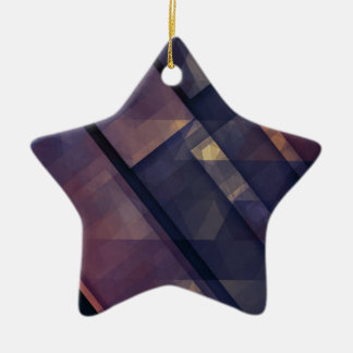 pixel art 5 christmas ornament
