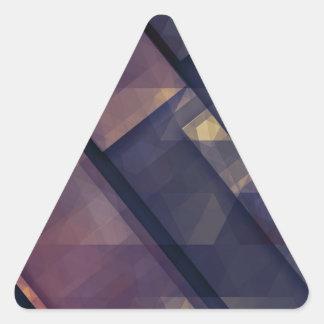 pixel art 5 triangle sticker