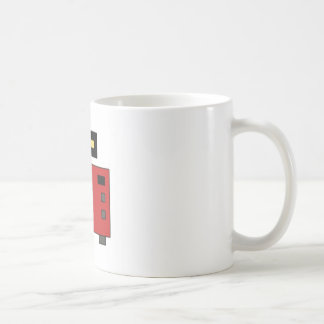 Pixel art retro camera coffee mug