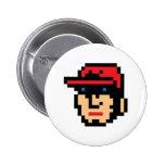 Pixel Baseball Player Buttons