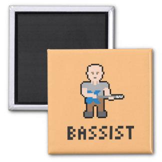 Pixel Bassist Magnet