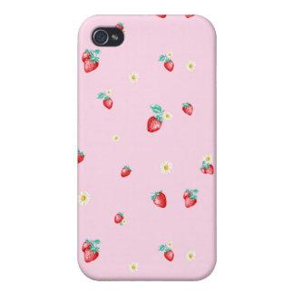 Pixel berries iPhone 4 cases