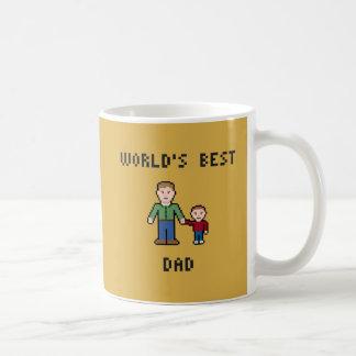 Pixel Best Dad Mug