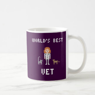 Pixel Best Female Vet Mug