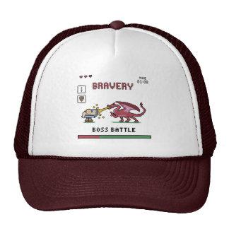 Pixel Boss Battle Trucker Hat