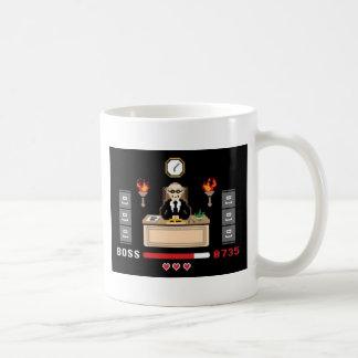 Pixel 'Boss' Design - GeekShirts Coffee Mug