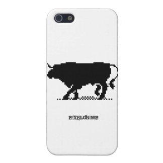 Pixel Bull iPhone 5 Cover