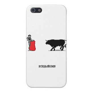 Pixel Bullfighter Cover For iPhone 5
