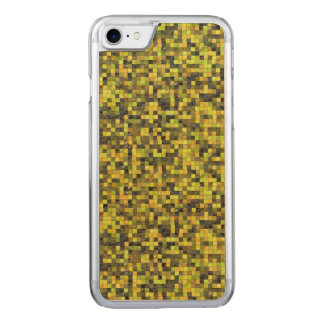 Pixel Camouflage Carved iPhone 8/7 Case