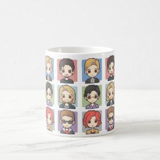 Pixel Characters Coffee Mug
