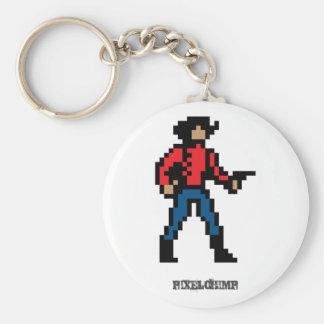 Pixel Cowboy Colour Keychains