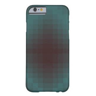 Pixel cyanogen-red barely there iPhone 6 case