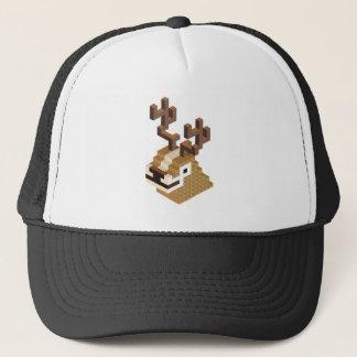 Pixel Deer Trucker Hat
