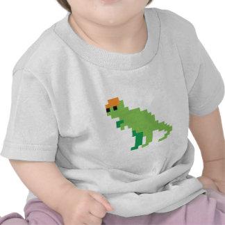 Pixel dino shirt