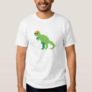 Pixel dino t shirts