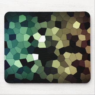 Pixel Dream - Gold/Mint Mouse Mat