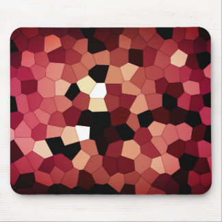 Pixel Dream - Red Mouse Mat