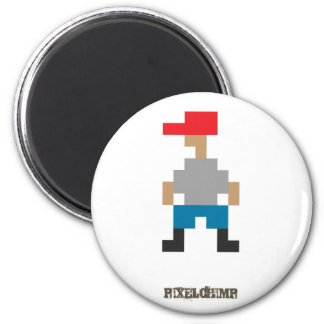 Pixel_Dude Refrigerator Magnets