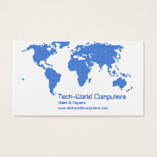 Pixel Earth Business Card