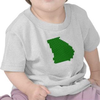 Pixel Georgia T Shirts