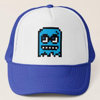 Pixel Ghost Trucker Hat