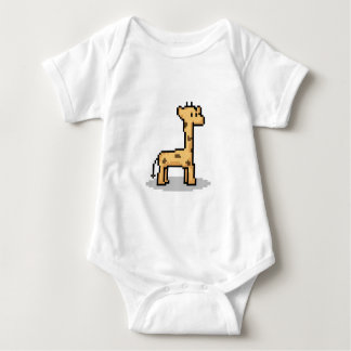 Pixel Giraffe Tshirt