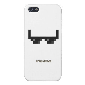 Pixel_Glasses iPhone 5 Cover
