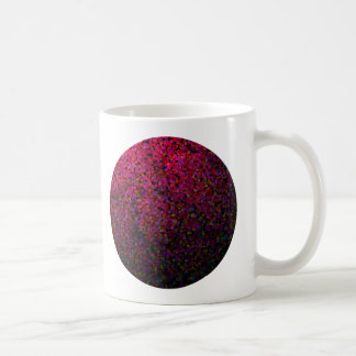 Pixel Glitch Pink Coffee Mug