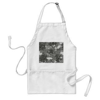 Pixel Grey & White Urban Camouflage Standard Apron