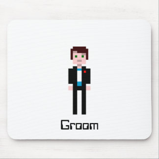 Pixel Groom Mouse Pad