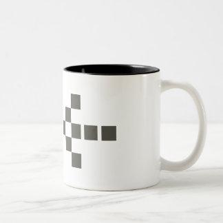 Pixel Hand of Eris Big mug