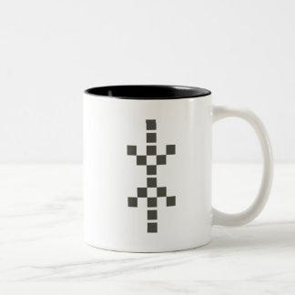 Pixel Hand of Eris mug