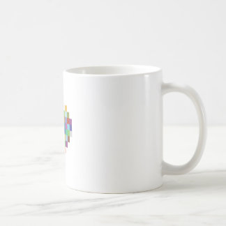 Pixel Heart Coffee Mug