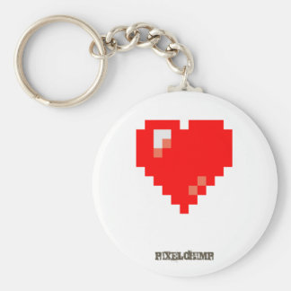 Pixel_Heart Keychains
