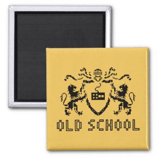 Pixel Heraldic Old School Magnet