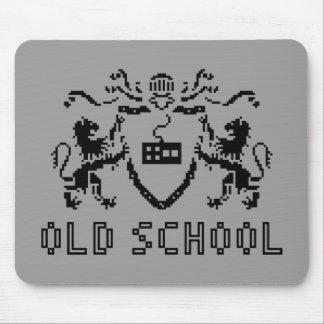 Pixel Heraldic Old School Mousepad