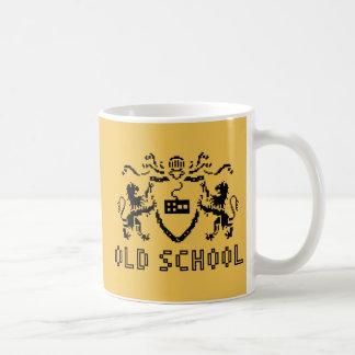 Pixel Heraldic Old School Mug
