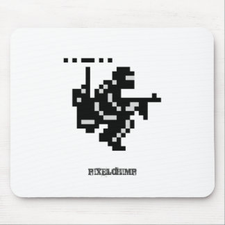 Pixel Hover Soldier Mousepad