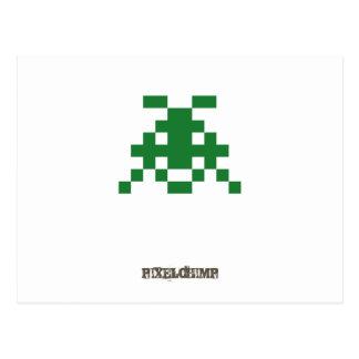 Pixel_Invader Post Cards