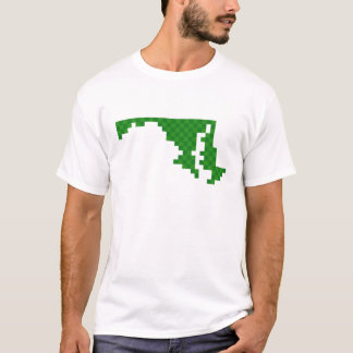 Pixel Maryland T-Shirt