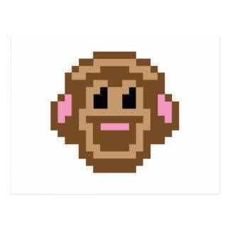 Pixel Monkey Postcard