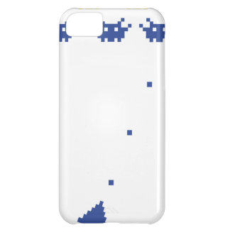 pixel monster computer game icon iPhone 5C cover
