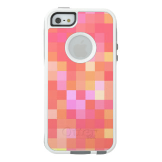 Pixel Multicolor Red/Pink/Yellow/Orange/Lavender OtterBox iPhone 5/5s/SE Case