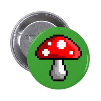 Pixel Mushroom Button