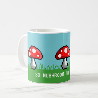Pixel Mushroom Meadow Mug