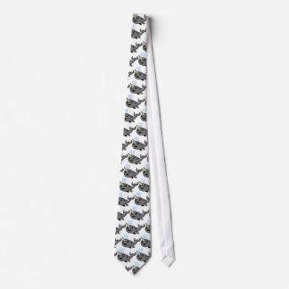 Pixel Narwhal Tie