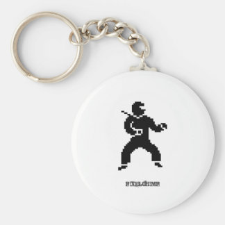 Pixel Ninja Side Keychain