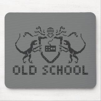 Pixel Old School Dinosaur Mousepad