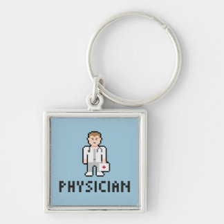Pixel Physician Keychain