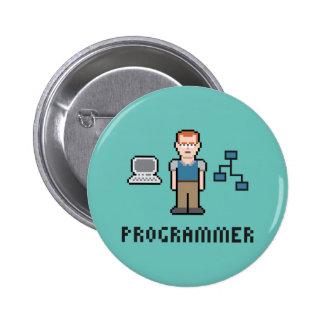 Pixel Programmer Round Button